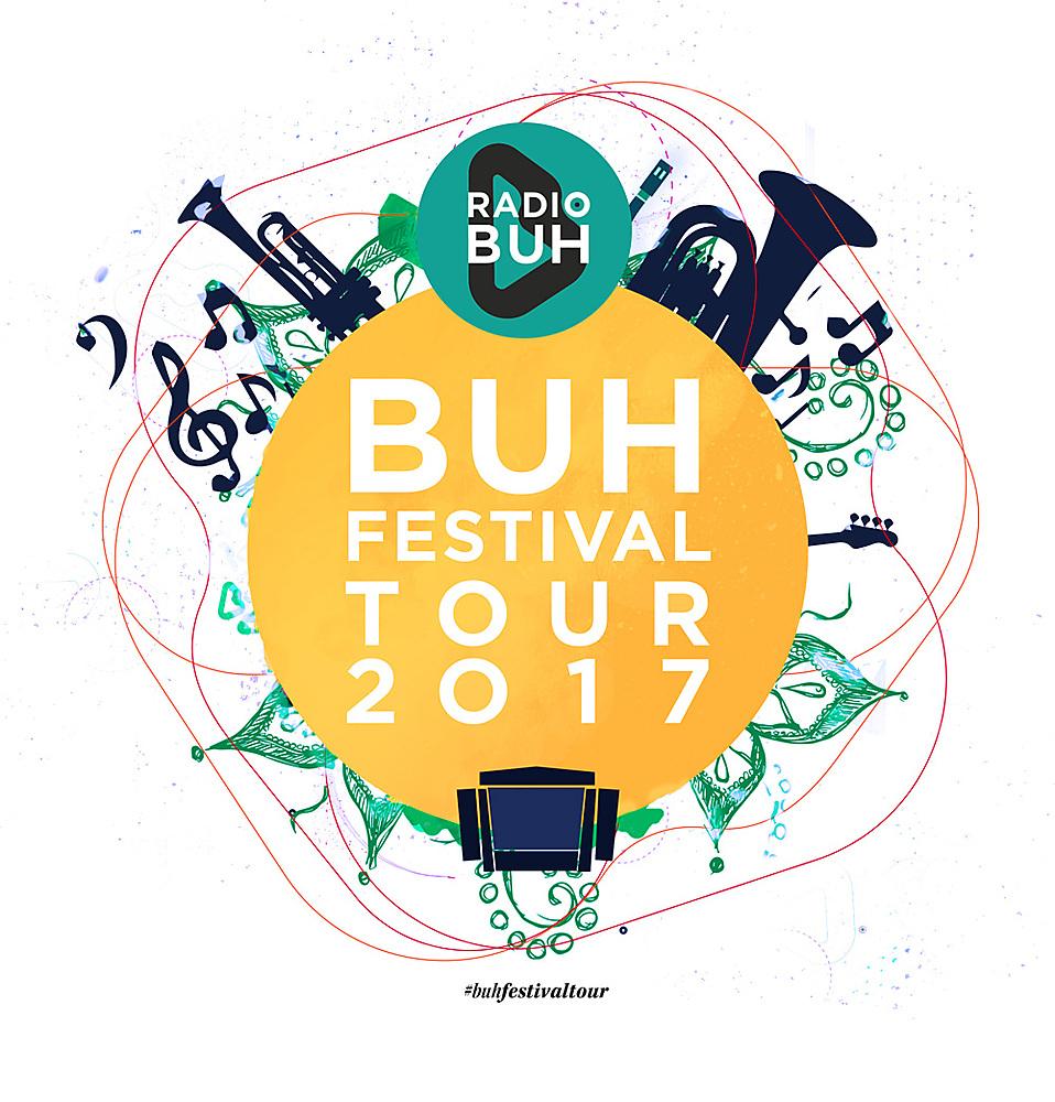 Radio BUH Festivaltour 2017 Keyvisual